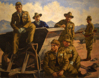 Yamada Shinichi. Лагерь британских военнопленных.