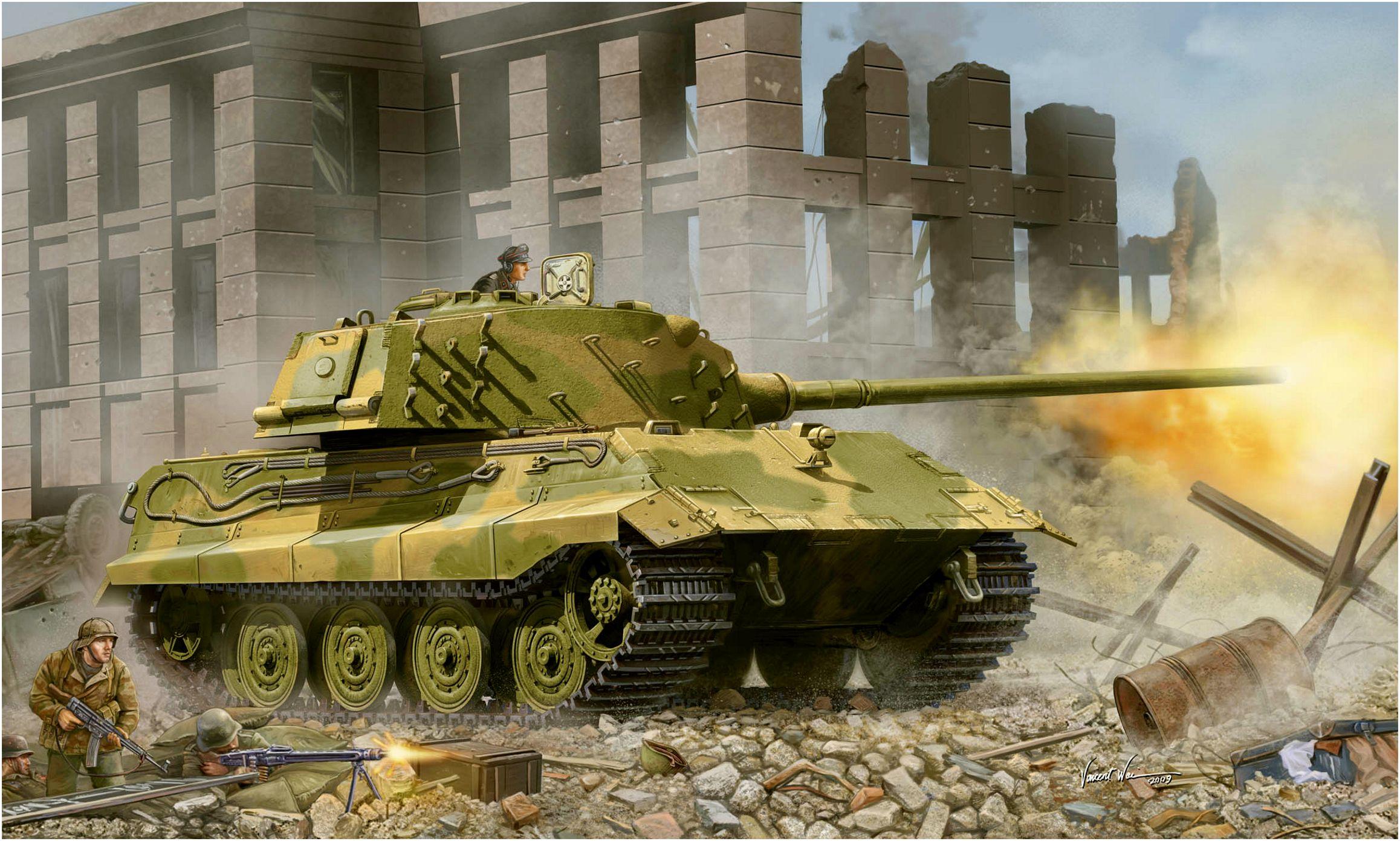 Wai Vincent. Танк E-75 Standardpanzer.