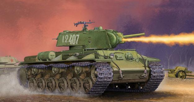 Wai Vincent. Огнеметный танк КВ-8С.