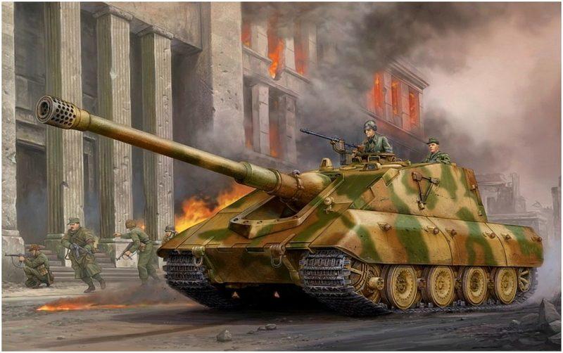 Wai Vincent. Танк E-100 Ausf. F.