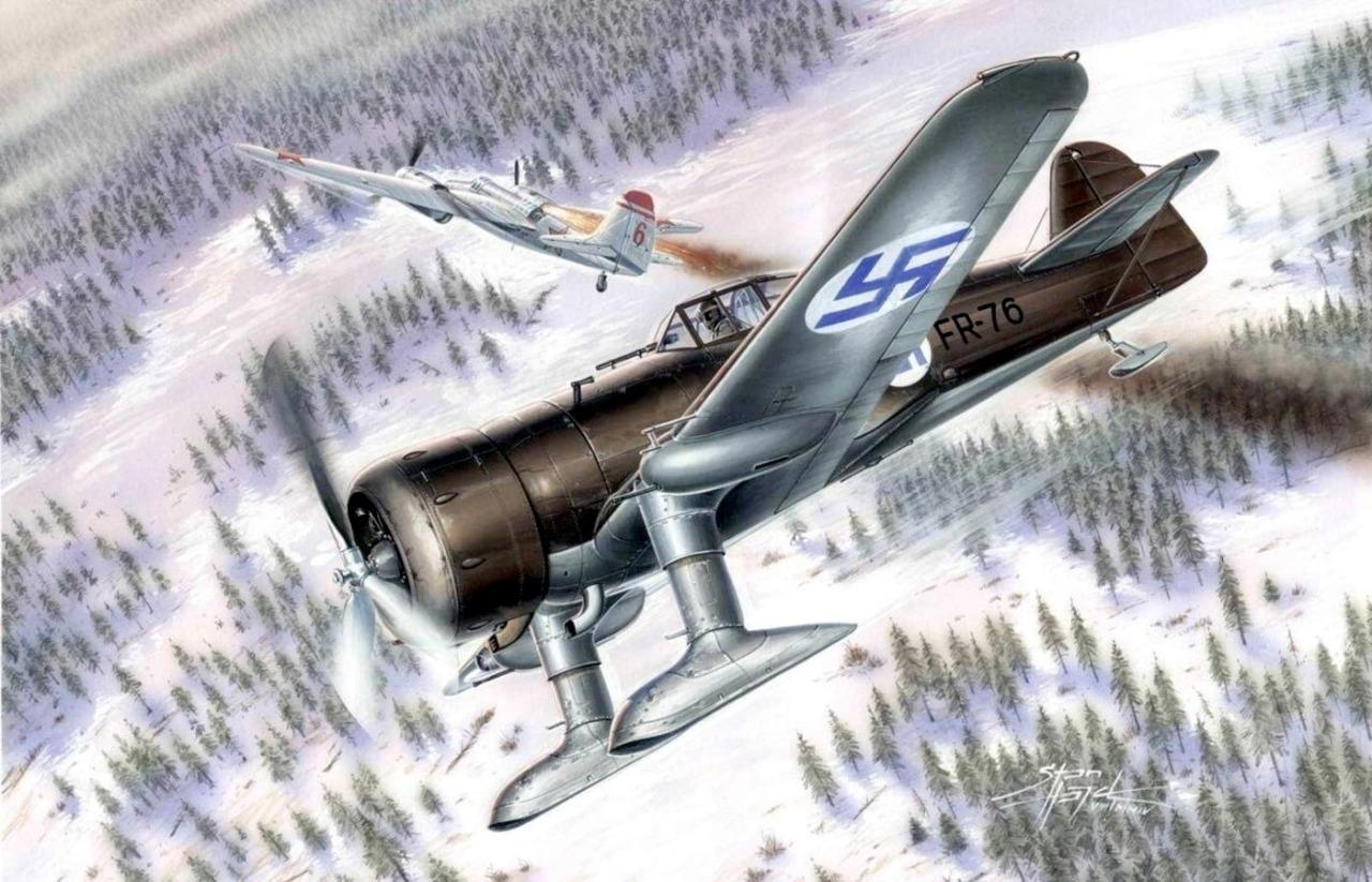 Hajek Stanislav. Истребитель Fokker D.XXI.