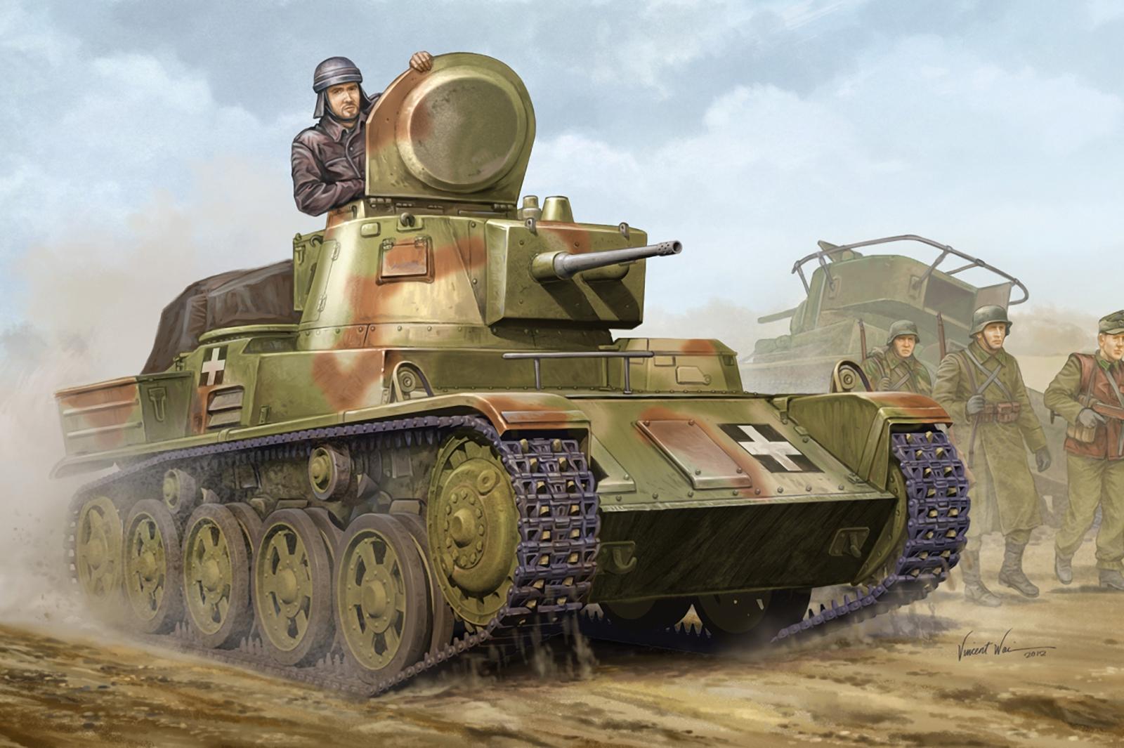 Wai Vincent. Танк 38M Toldi II.