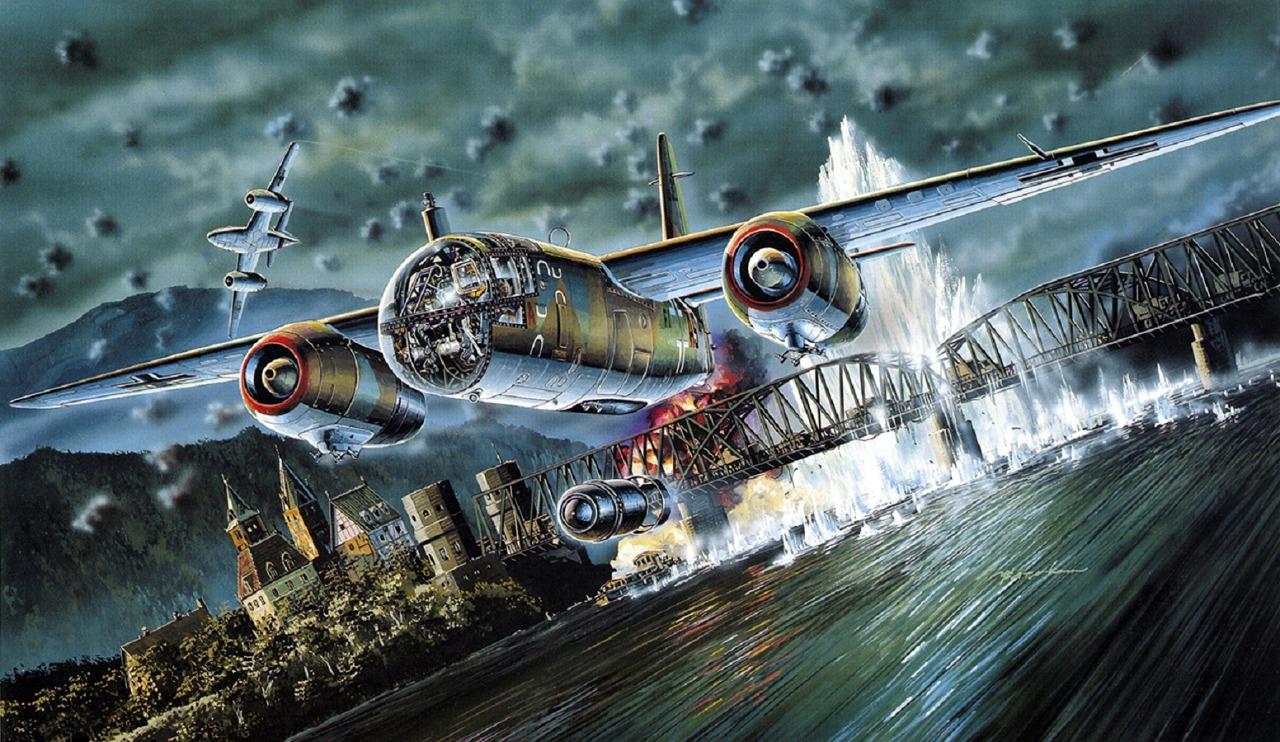 Satake Masao. Бомбардировщик Arado Ar.234.