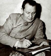 Герман Геринг в камере.1946 г.