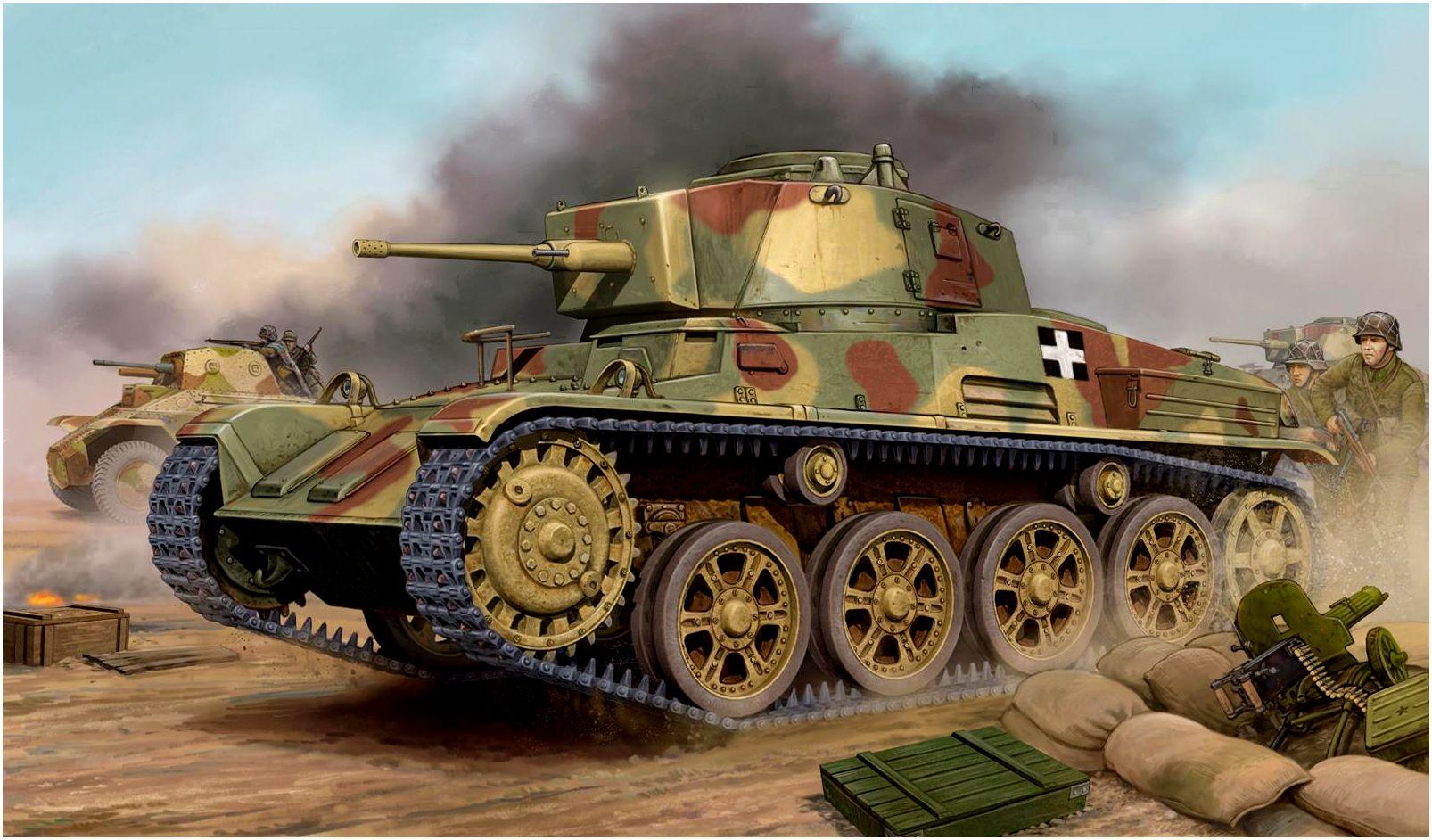 Wai Vincent. Танк 43M Toldi III.