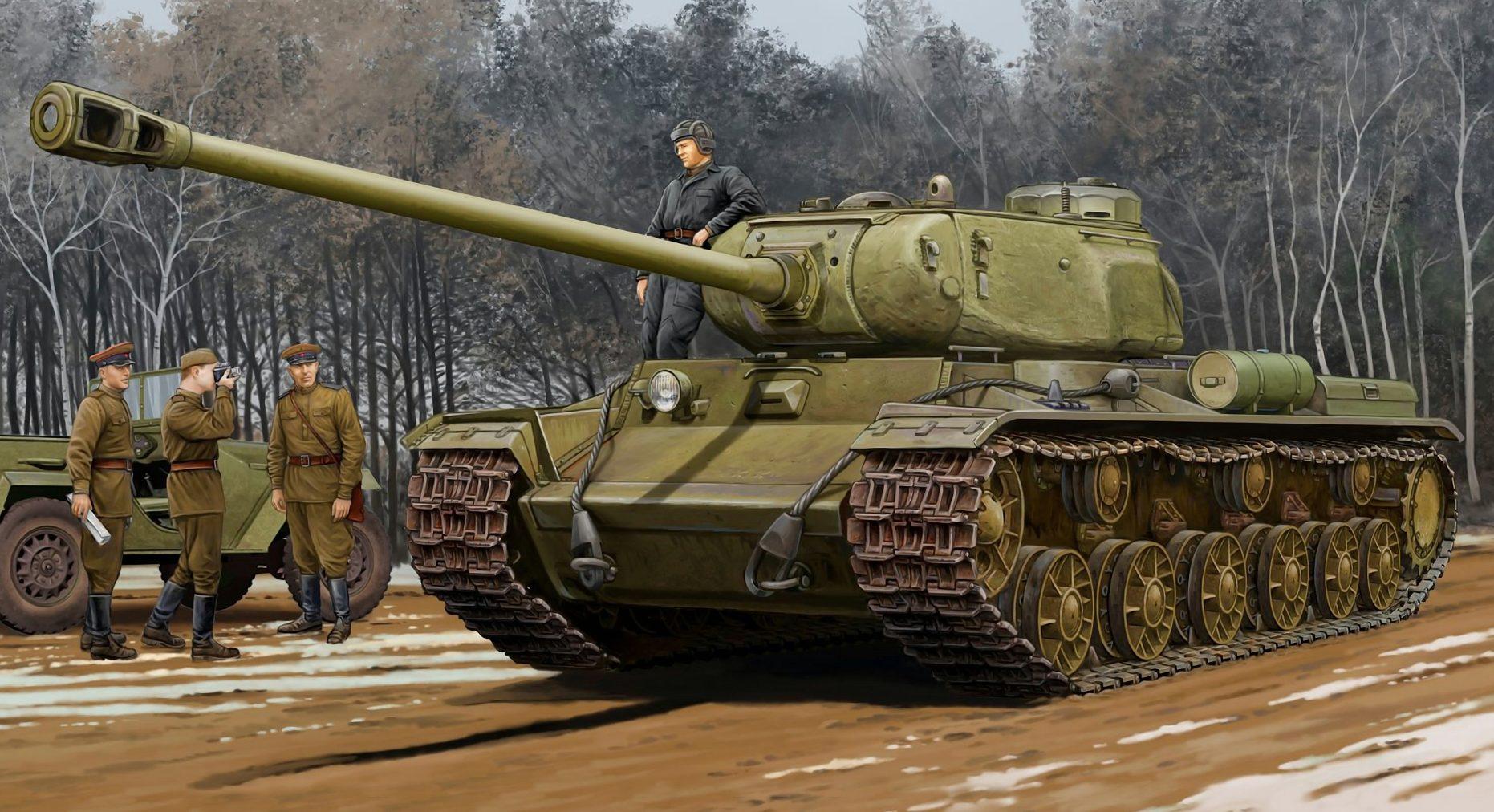 Wai Vincent. Танк КВ-122.