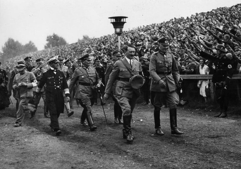 Герман Геринг на съезде НСДАП. Нюрнберг. 1934 г.