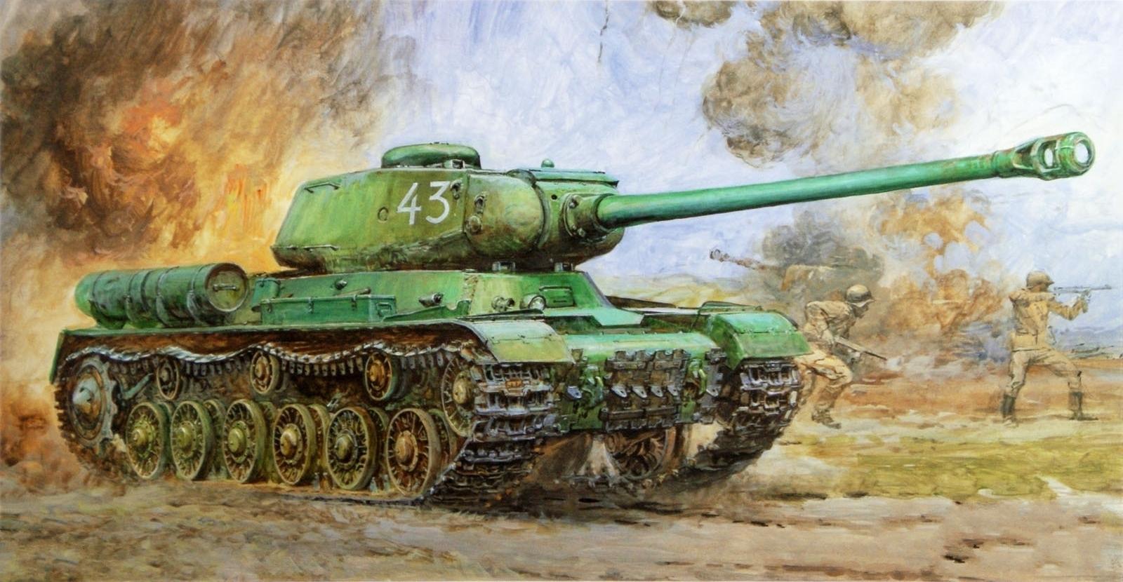 Takani Yoshiyuki. Танк ИС-2.