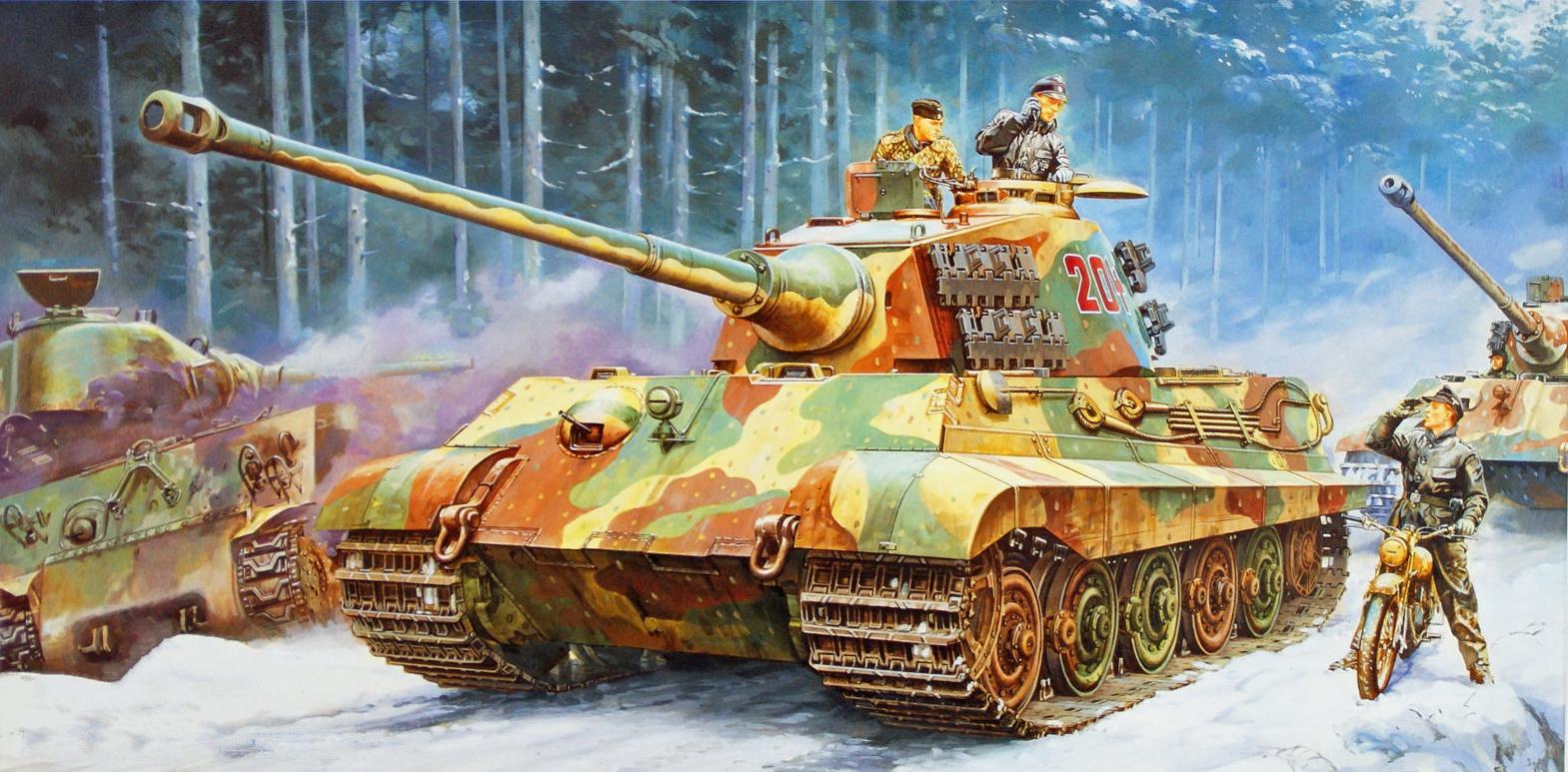 Onishi Masami. Танк «King Tiger».
