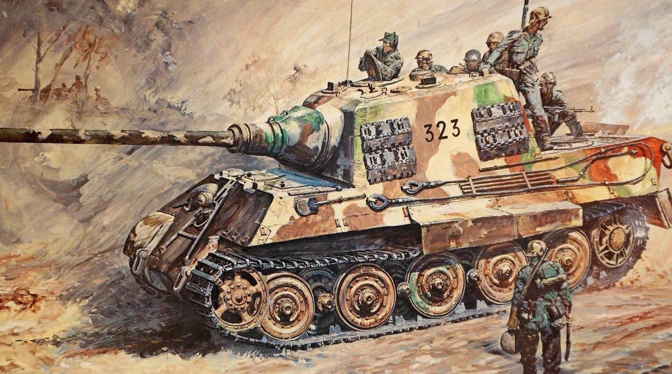 Takani Yoshiyuki. САУ Jagdpanzer VI.