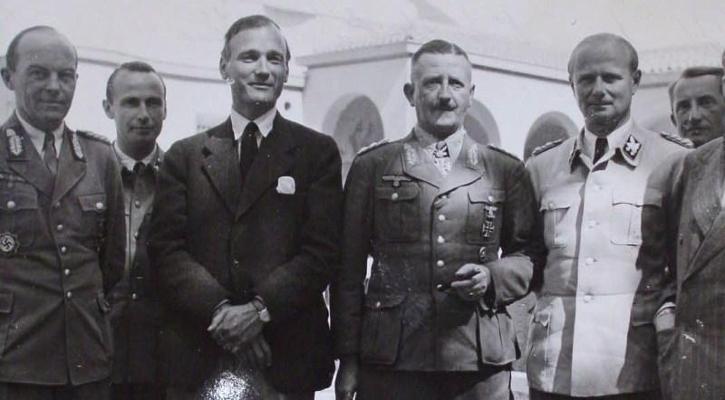 Карл Вольф после капитуляции немецких войск в Италии. 1945 г.