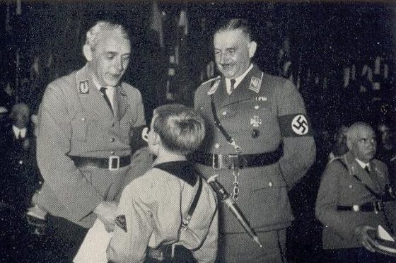 Руст Бернгард на соревнованиях по шахматам. Мюнхен. 1936 г.