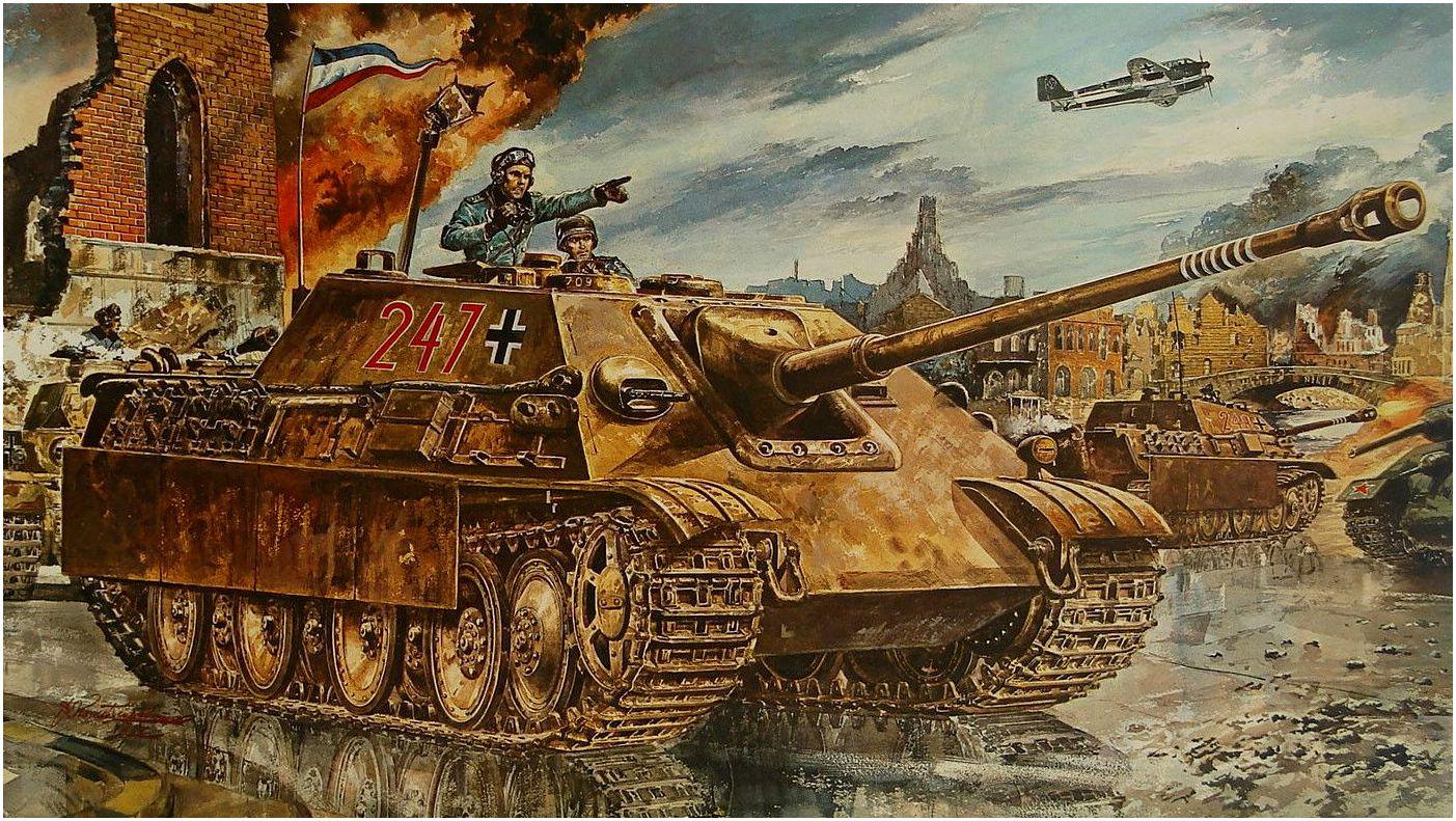Takani Yoshiyuki. САУ Jagdpanther.