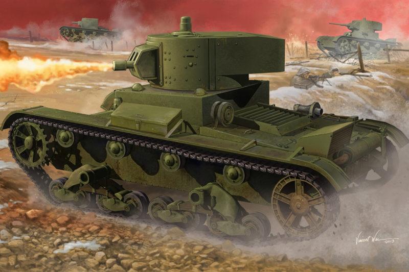 Wai Vincent. Огнеметный танк OT-130.