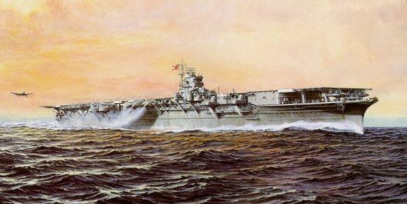 Yuki Takeshi. Авианосец «Shokaku».