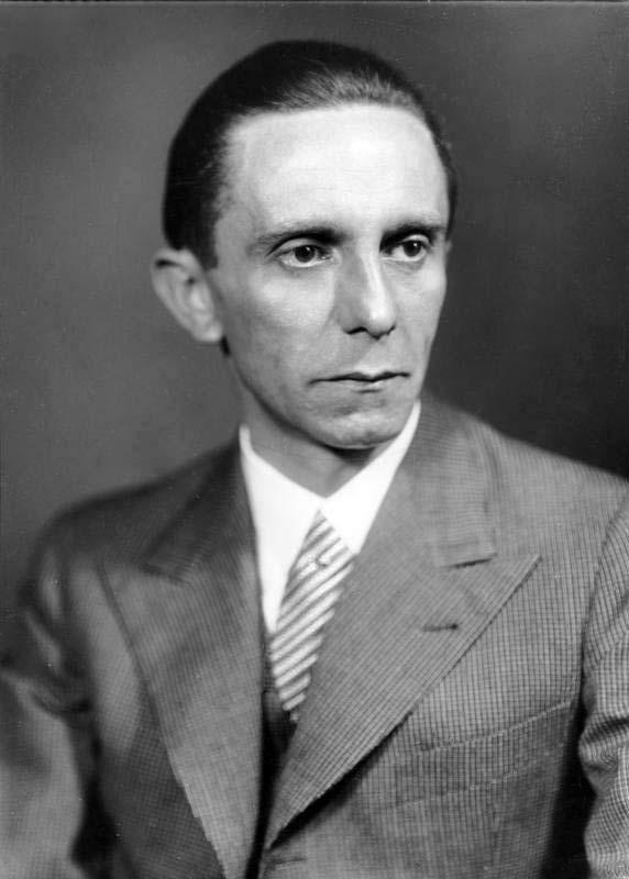 Йозеф Геббельс. Начальник управления пропаганды НСДАП.