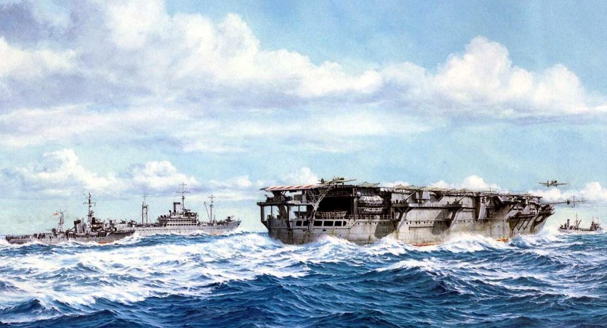 Yuki Takeshi. Авианосец «Taiyo».