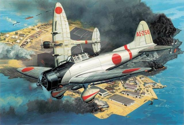 Satake Masao. Истребители Type 99 «Val».