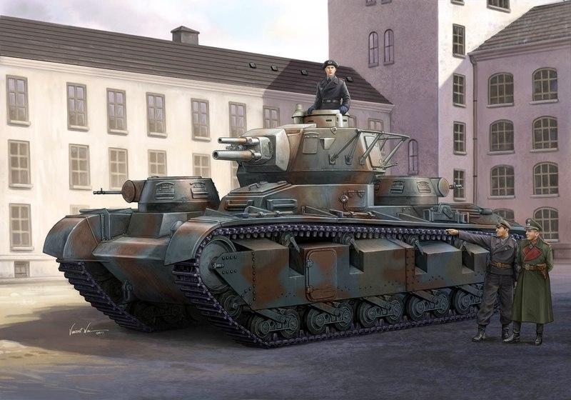 Wai Vincent. Танк Т-35 на службе Вермахту.