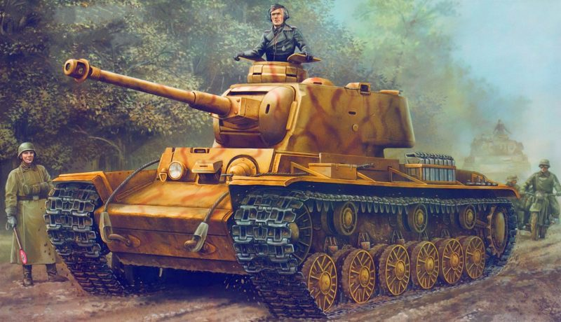 Wai Vincent. Трофейный танк КВ-1.