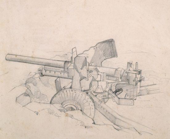 Crippen Jack. Противотанковое орудие.