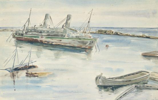 Crippen Jack. Разрушенное госпитальное судно.