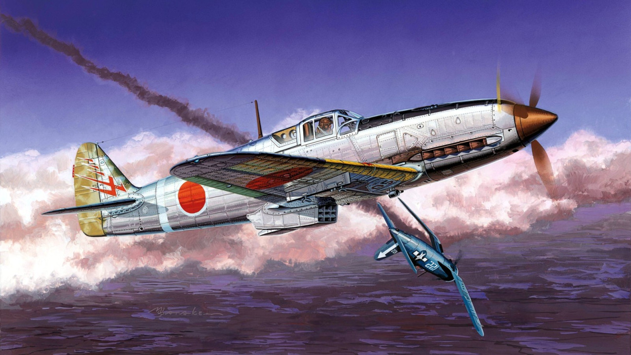 Satake Masao. Истребитель Kawasaki Ki-61-1 Hien.