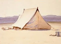 Deans Austen. Военные палатки.