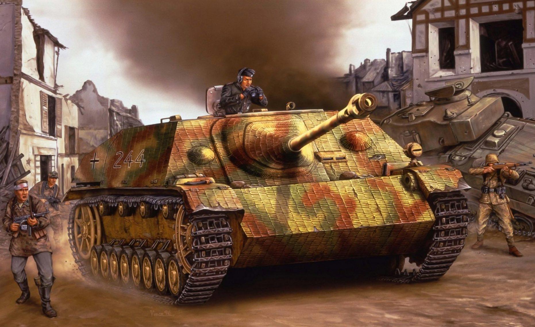 Wai Vincent. САУ Jagdpanzer IV.