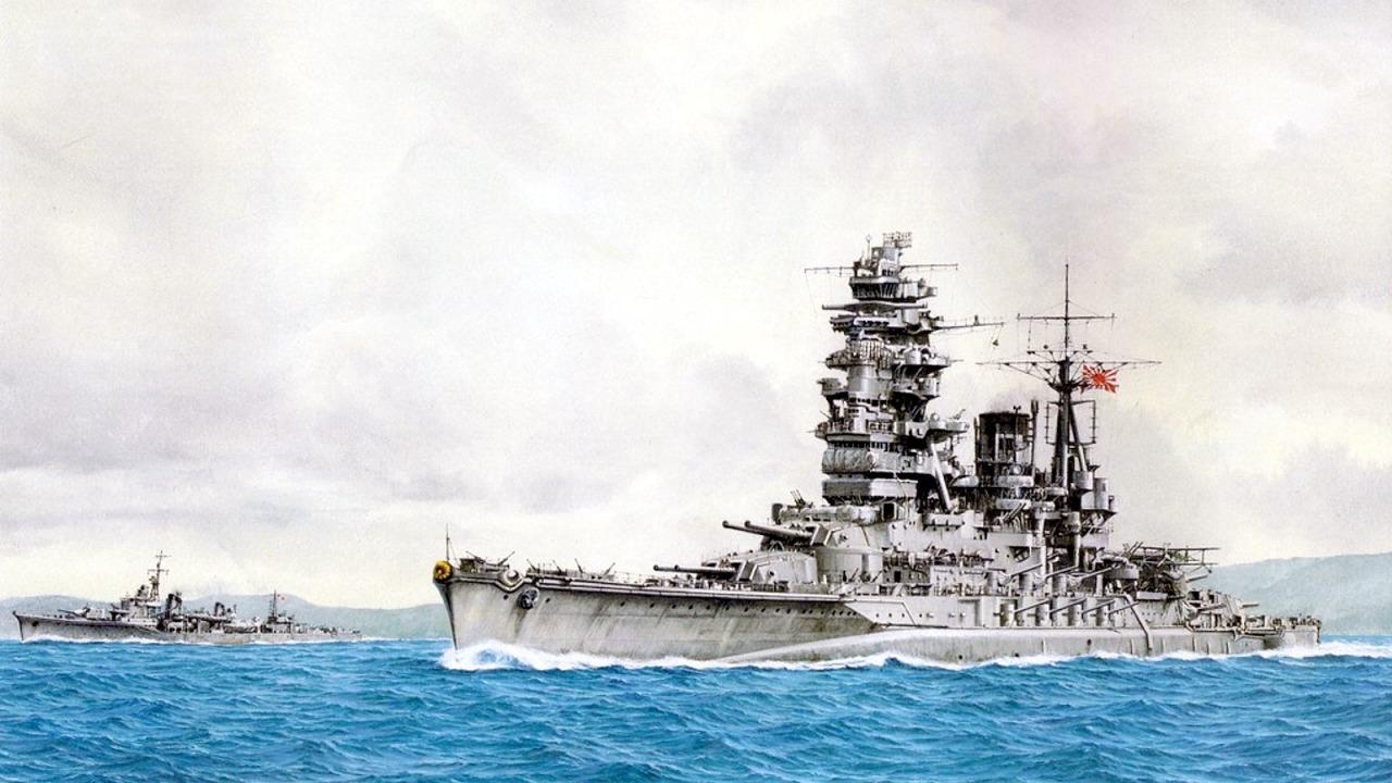 Yuki Takeshi. Линкор «Nagato».