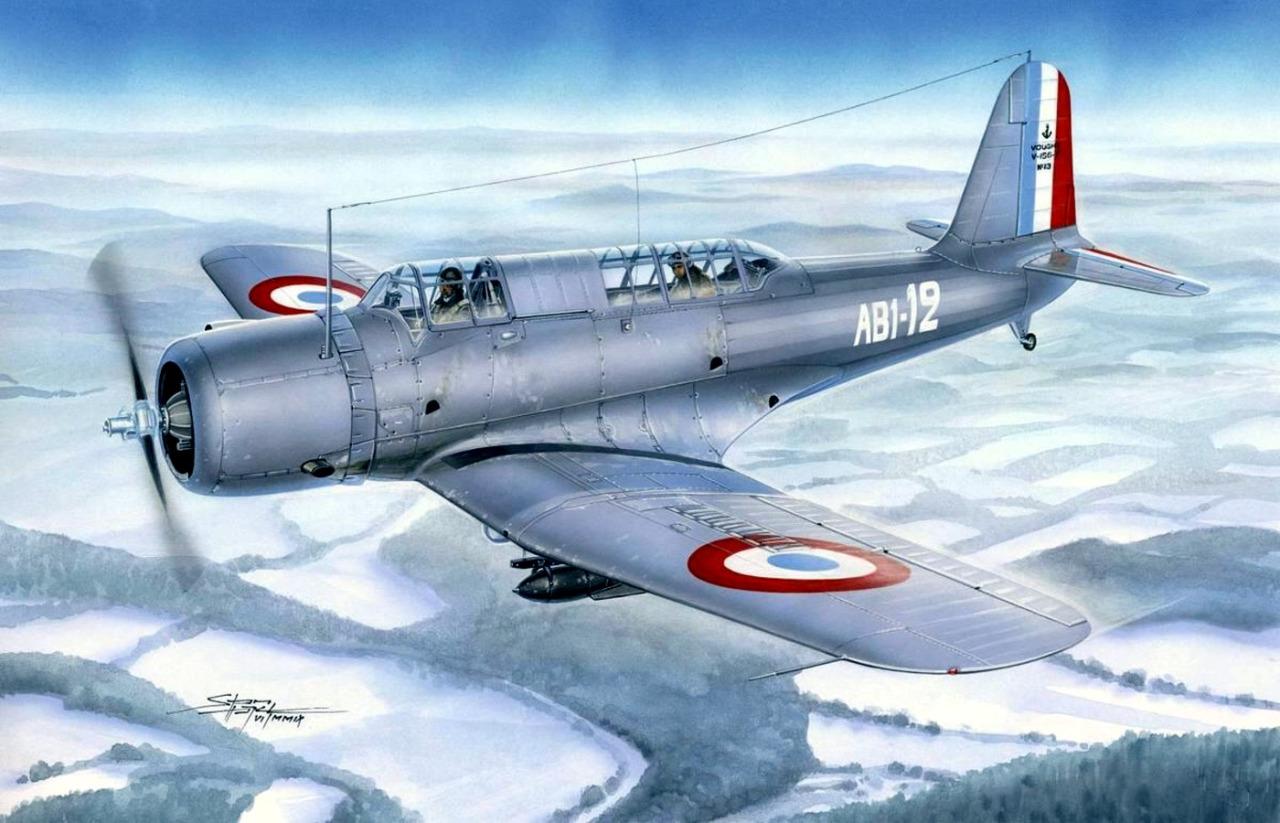 Hajek Stanislav. Бомбардировщик–разведчик Vought V-156F.