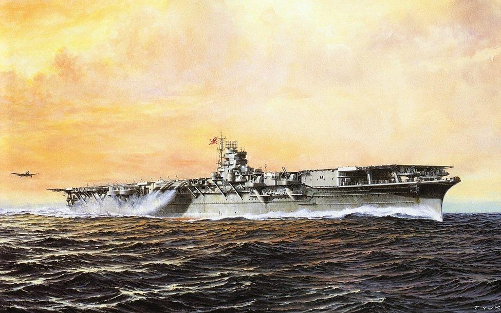 Takeshi Yuki. Авианосец «Shokaku».