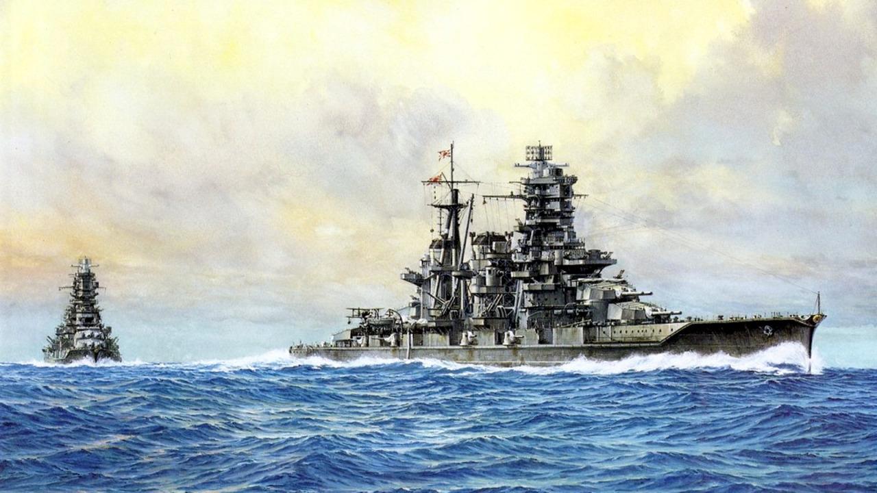 Yuki Takeshi. Линкор «Kongo».