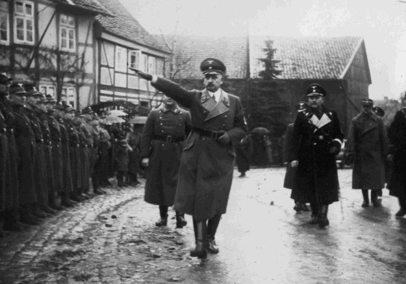 Руст Бернгард в Нижней Саксонии. 1940 г.