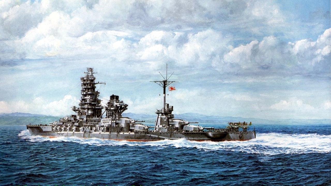 Yuki Takeshi. Линкор «Ise».