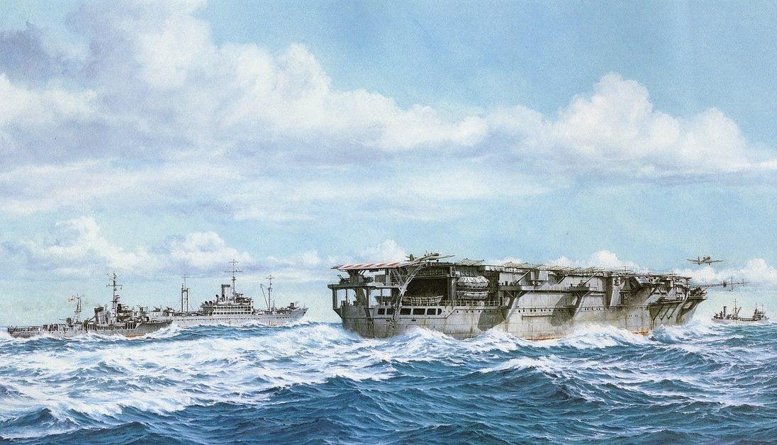 Takeshi Yuki. Авианосец «Тaiyo».