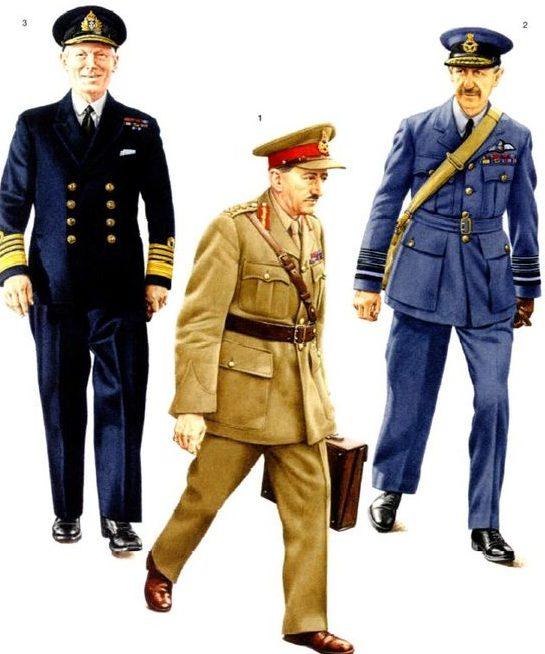 Генералы и адмиралы.