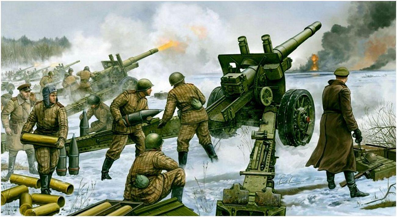 Wai Vincent. Советские тяжелые гаубицы МЛ-20.