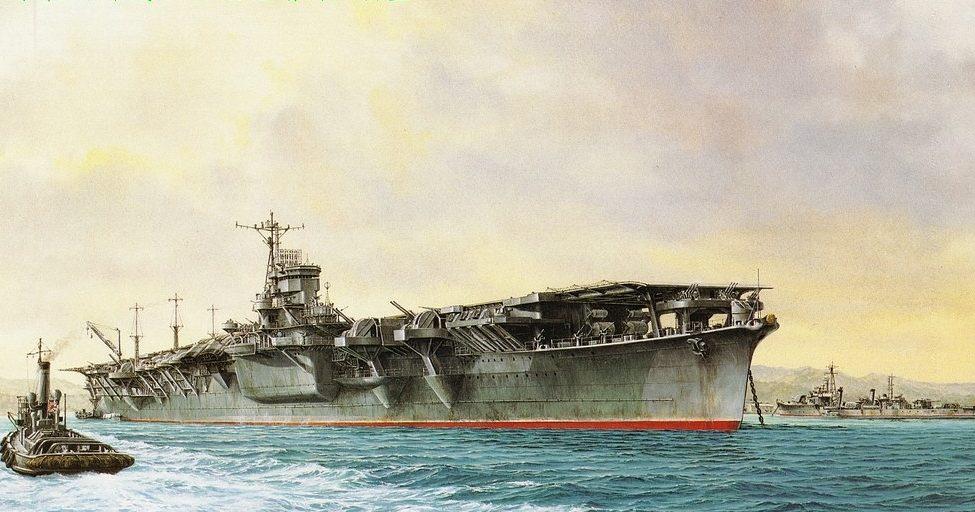 Takeshi Yuki. Авианосец «Unru».