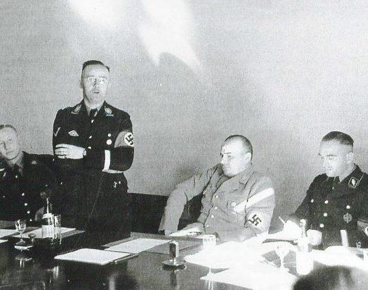 Вернер Бест в роли эмиссара РСХА во Франции. Париж. 1941 г.