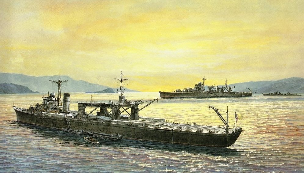 Takeshi Yuki. Авианосец «Chitose».