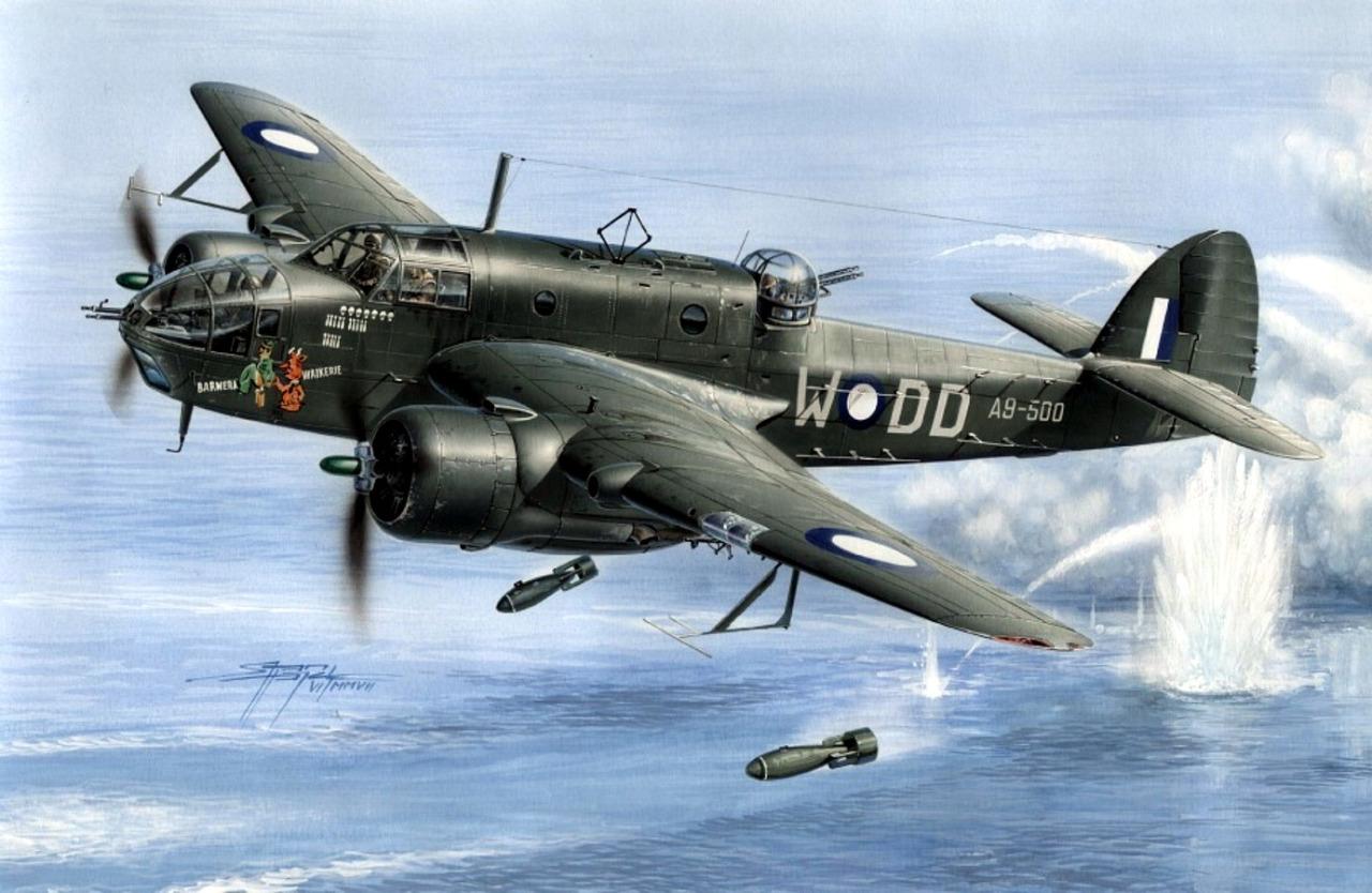 Hajek Stanislav. Бомбардировщик Bristol Beaufort Mk.VI M.