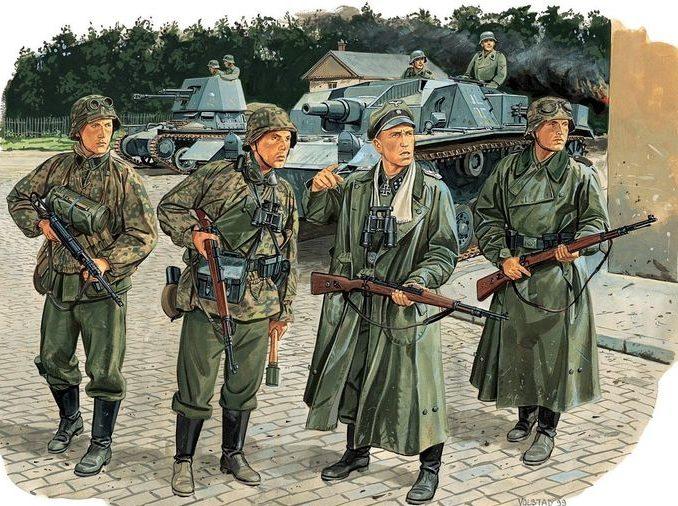 Volstad Ronald. Танковая дивизия SS Waffend Leibstandarte в Мариуполе.