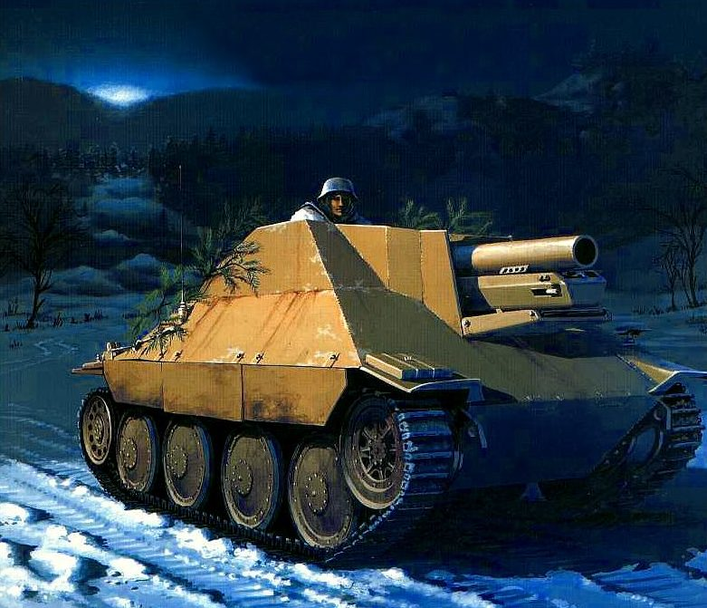 Wai Vincent. САУ Hetzer 150-mm sIG-33 (Sf).