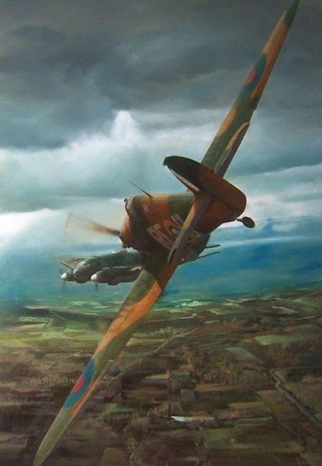 Urbanek Vladimir. Воздушный бой.