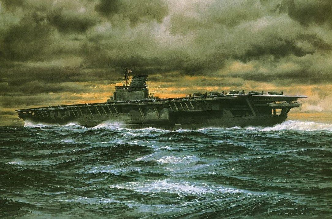 Takeshi Yuki. Авианосец «Shinano».