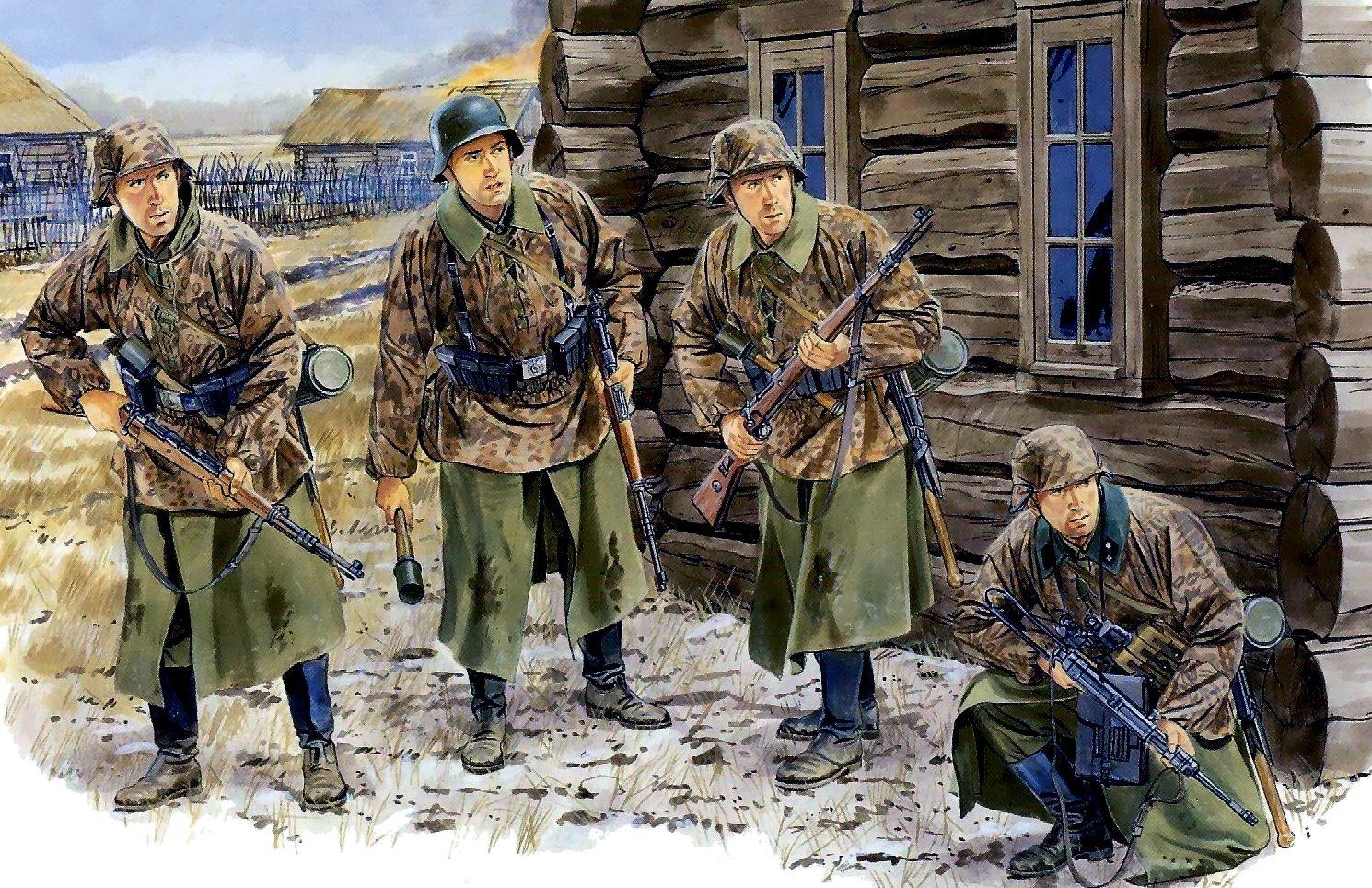 Volstad Ronald. Наступление под Москвой. 1941 г.