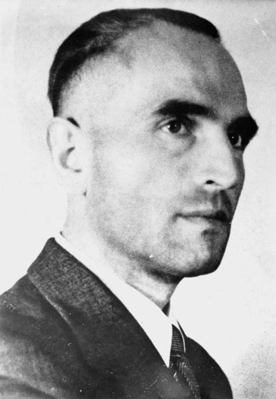 Вернер Бест. Рейхскомиссар Дании. 1942 г.
