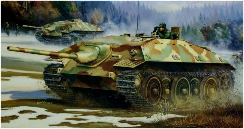Wai Vincent. САУ E-25 Jagdpanzer Sd.Kfz. 278.