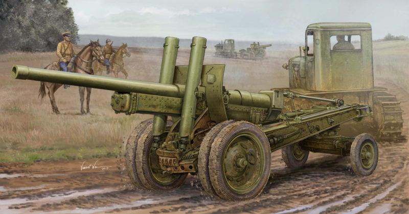 Wai Vincent. 122-мм гаубица А-19.